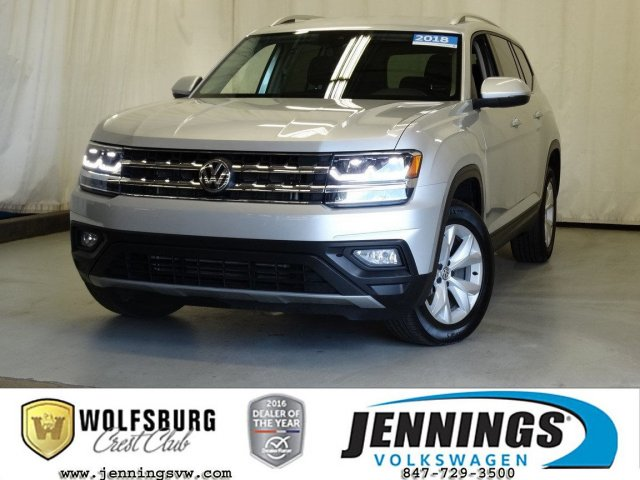 Certified Pre-Owned 2018 Volkswagen Atlas 3.6L V6 SE