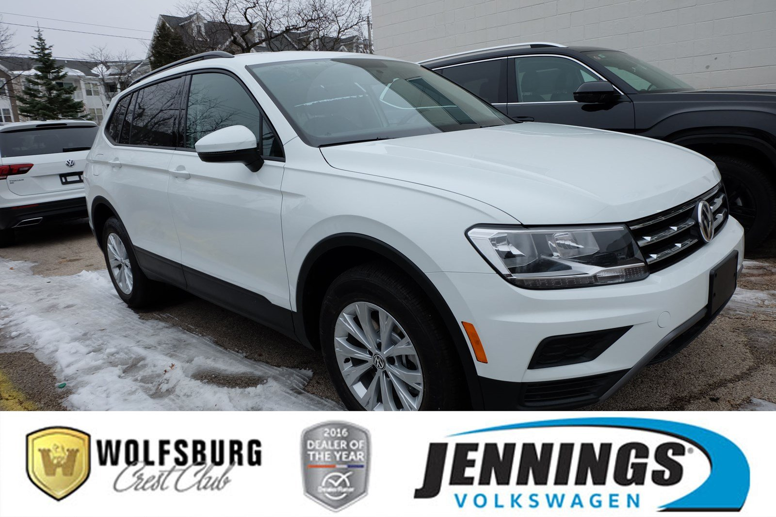 New 2019 Volkswagen Tiguan S With 4motion Sport Utility In Glenview