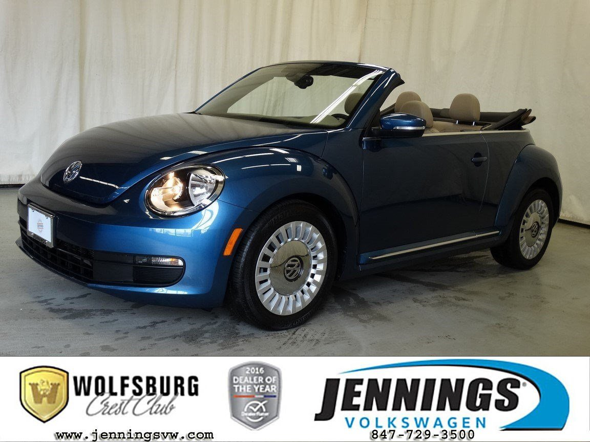Certified Pre-Owned 2016 Volkswagen Beetle Convertible 1.8T SE