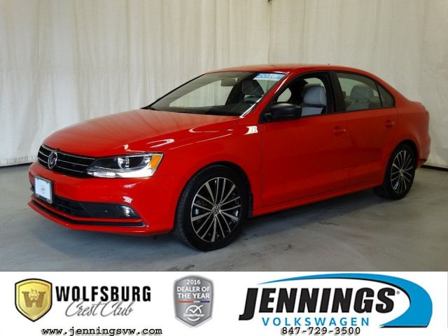 Certified Pre-Owned 2016 Volkswagen Jetta Sedan 1.8T Sport