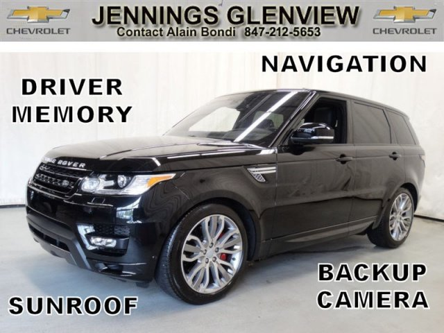 Pre-Owned 2016 Land Rover Range Rover Sport Autobiography 4WD