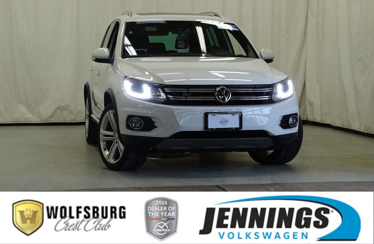 Certified Pre-Owned 2014 Volkswagen Tiguan R-Line 4-Motion