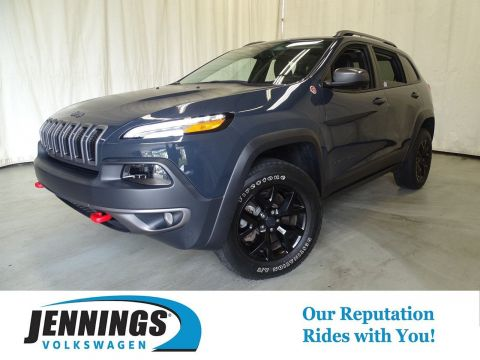 Pre-Owned 2016 Jeep Cherokee Trailhawk 4WD Sport Utility