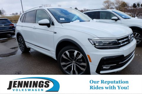 New 2020 Volkswagen Tiguan SEL Premium R-Line AWD Sport Utility