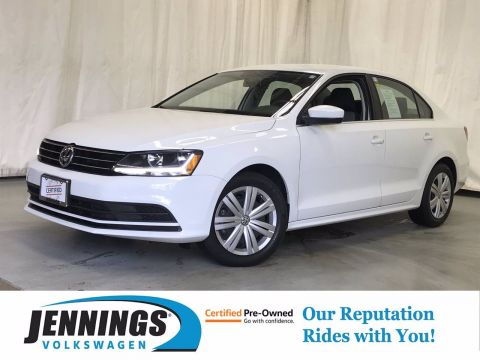 Certified Pre-Owned 2017 Volkswagen Jetta 1.4T S FWD 4dr Car