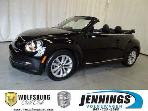 Certified Pre-Owned 2014 Volkswagen Beetle Convertible 2.0L TDI