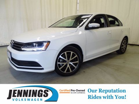 Certified Pre-Owned 2017 Volkswagen Jetta 1.4T SE FWD 4dr Car