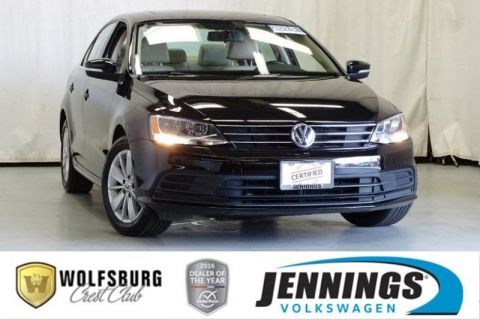 Certified Pre-Owned 2015 Volkswagen Jetta Sedan 2.0L TDI SE w/Connectivity