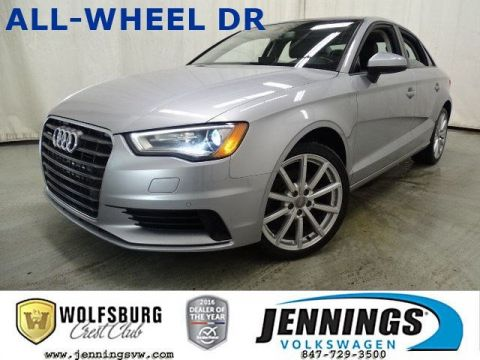 Pre-Owned 2016 Audi A3 2.0T Premium AWD 4dr Car