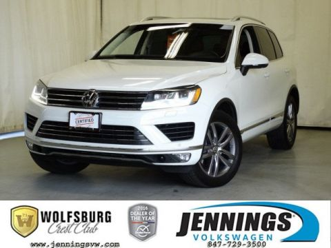 Certified Pre-Owned 2016 Volkswagen Touareg Lux