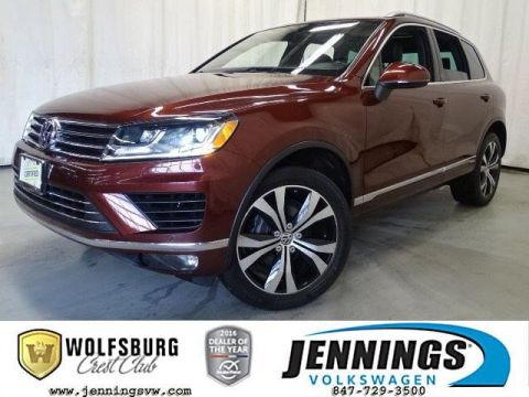 Certified Pre-Owned 2017 Volkswagen Touareg AWD Wolfsburg Edition AWD Sport Utility